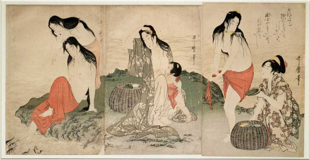 Miroir du désir: Women in Japanese Woodblock Prints at Musée Guimet