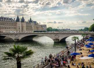 Beach and Sun at Paris Plages | Urban Mishmash