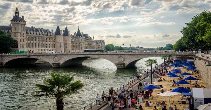 Beach and Sun at Paris Plages | Urban Mishmash