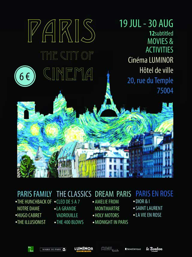 Paris: The City of Cinema | Urban Mishmash