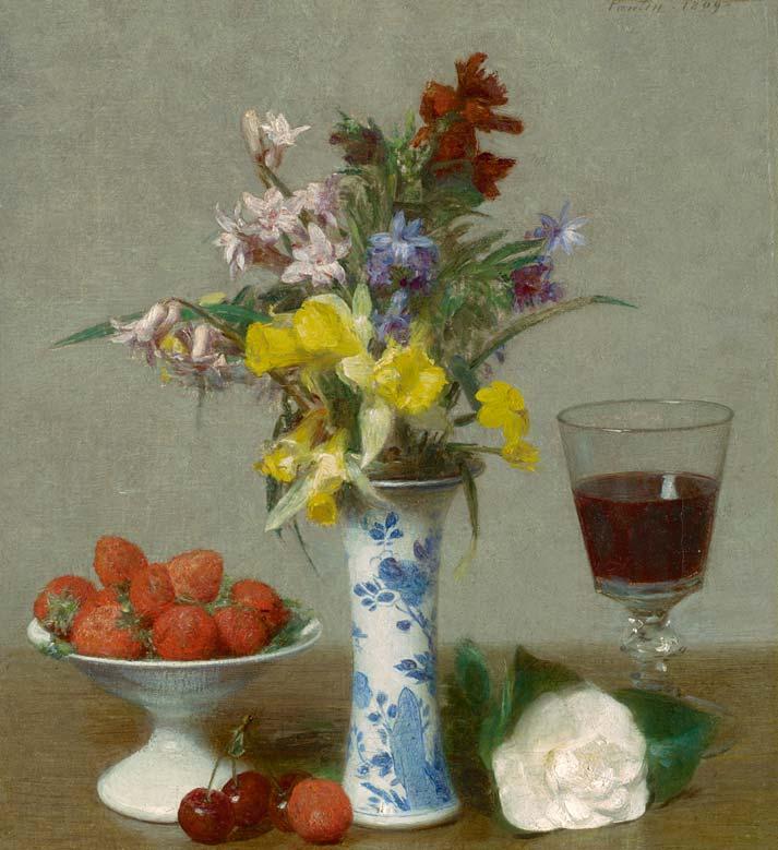 Henri Fantin-Latour, A fleur de peau, Exhibition at Musee du Luxembourg, Paris | Urban Mishmash