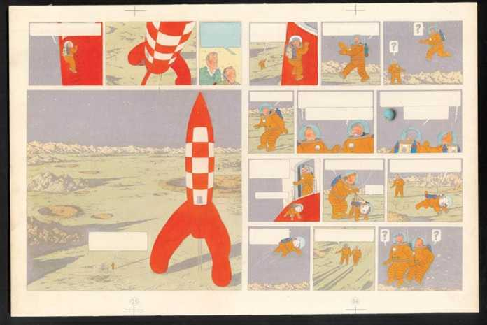 Herge - Tintin - 2016 Art Exhibition at Grand Palais | Paris