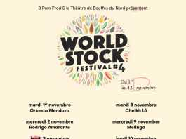 Worldstock Festival 2016 | World Music Concert and Gigs | November 2016 | Urban Mishmash Paris