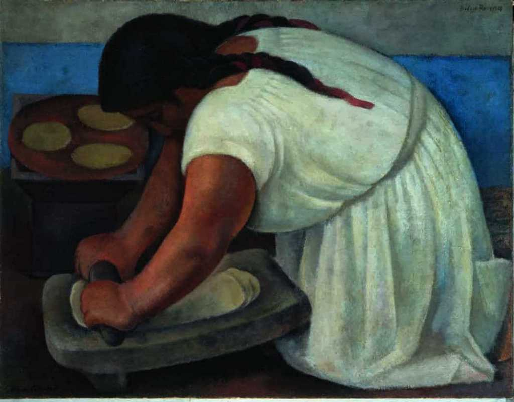 Diego Rivera, La Molendera, Mexique - Exhibition at Grand Palais, Paris | Urban Mishmash