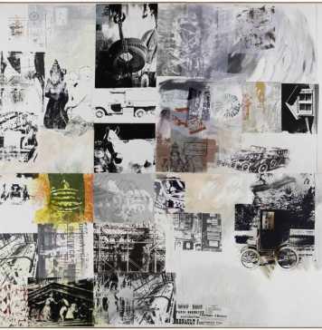 Robert Rauschenberg and Marcel Duchamp