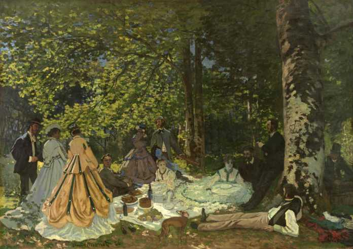 Monet, Luncheon on the Grass, Exhibition Icons of Modern Art - The Shchukin Collection at Fondation Louis Vuitton, Paris | Urban Mishmash