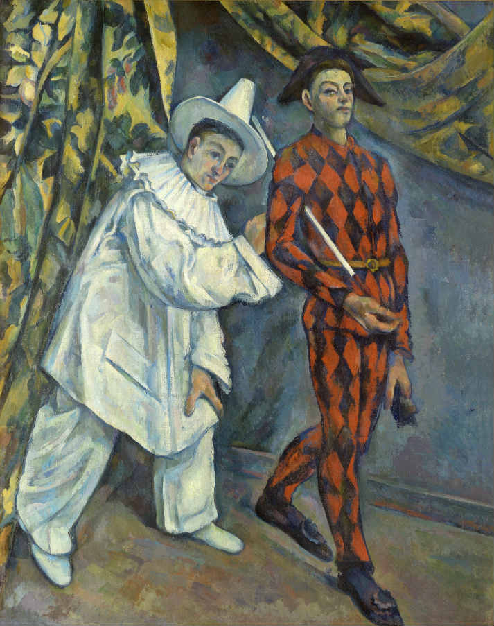 Paul Cezanne, Mardi Gras, Exhibition Icons of Modern Art - The Shchukin Collection at Fondation Louis Vuitton, Paris | Urban Mishmash