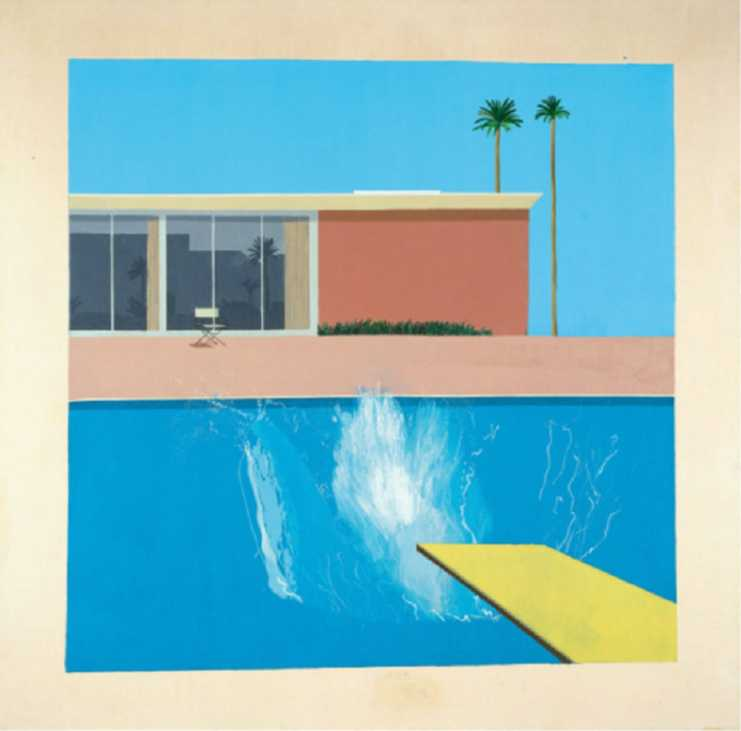 David Hockney Retrospective | Centre Pompidou - Art exhibitions 2017 Paris | Urban Mishmash