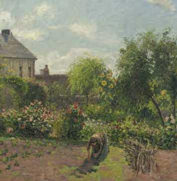 Pissarro in Eragny
