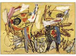 Desert Dancers, Karel Appel Retrospective Exhibition at Musee d'art modern | Exhibitions in Paris | Urban Mishmash