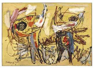 Desert Dancers, Karel Appel Retrospective Exhibition at Musee d'art modern   Exhibitions in Paris   Urban Mishmash