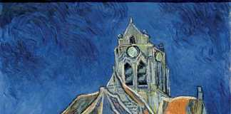 Vincent Van Gogh, Church in Auvers, 1890 | Auvers-sur-Oise: Day trips from Paris | Urban Mishmash
