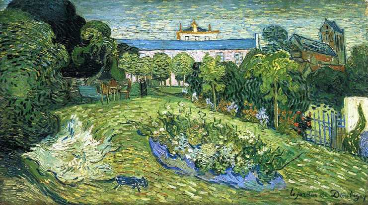 Vincent Van Gogh, Daubigny's garden, 1890. Auvers-sur-Oise: Day trips from Paris | Urban Mishmash