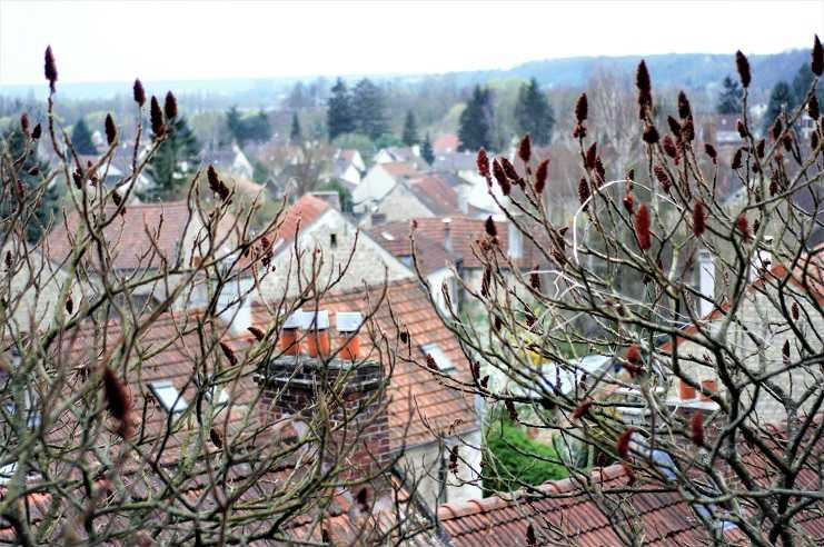 Auvers-sur-Oise, Viewed from Doctor Gachet's house and garden | Auvers-sur-Oise: Day trips from Paris | Urban Mishmash