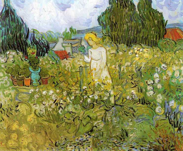 Vincent Van Gogh, Marguerite Gachet in the Garden, 1890 | Auvers-sur-Oise: Day trips from Paris | Urban Mishmash