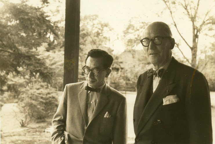 Junzo Sakakura and Le Corbusier, Retrospective Exhibition in Paris, Miason de la culture du Japon