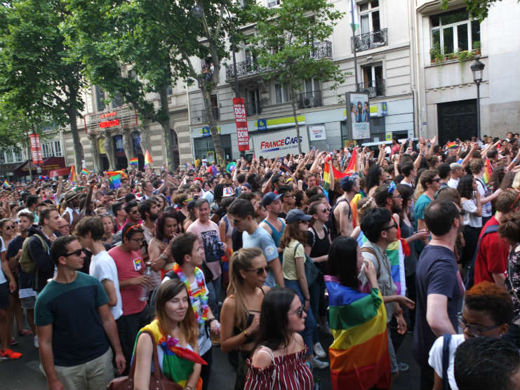 Paris Pride: Marche des Fiertés 2017: In Pictures | Urban Mishmash